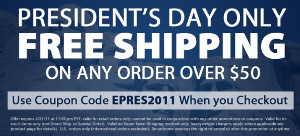 President's Day Sale 2011