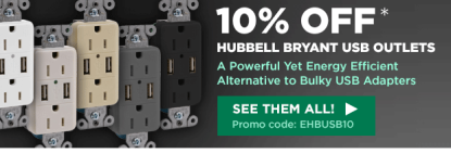 10% Off Hubbell Bryant