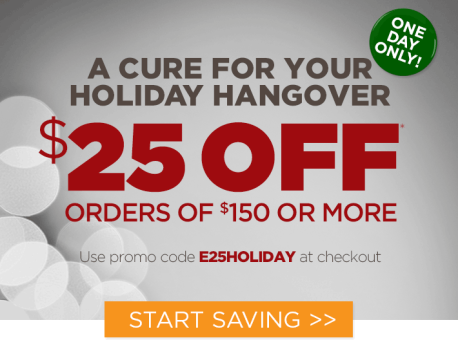 Holiday Hangover Sale