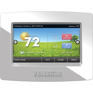 Venstar T5800 ColorTouch Multi-Functional Programmable Touch Screen Thermostat