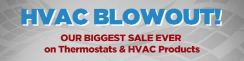 HVAC Blowout Sale