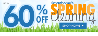 Smarthome's Spring Cleaning Sale